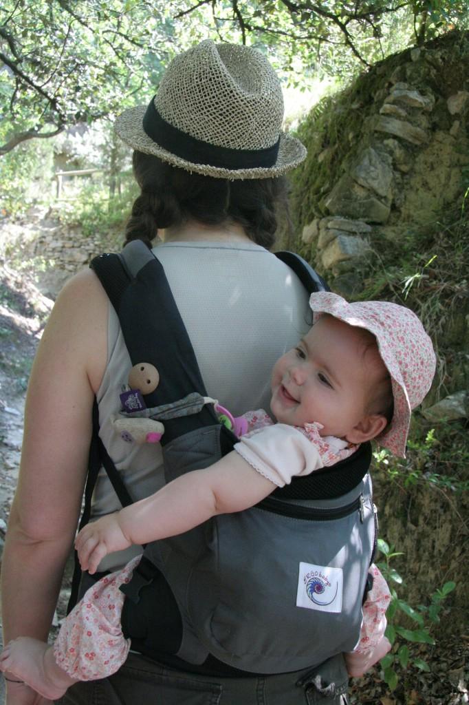 ErgoBABY en randonnée