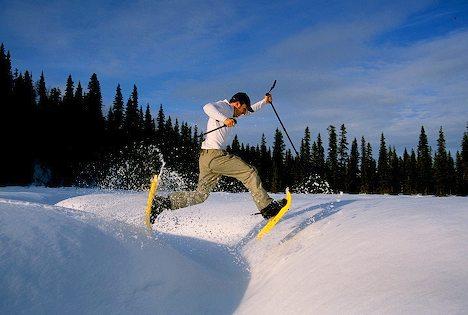 choisir raquettes neige