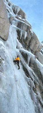 initiation cascade de glace