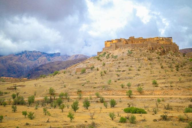 Maroc anti Atlas citadelle